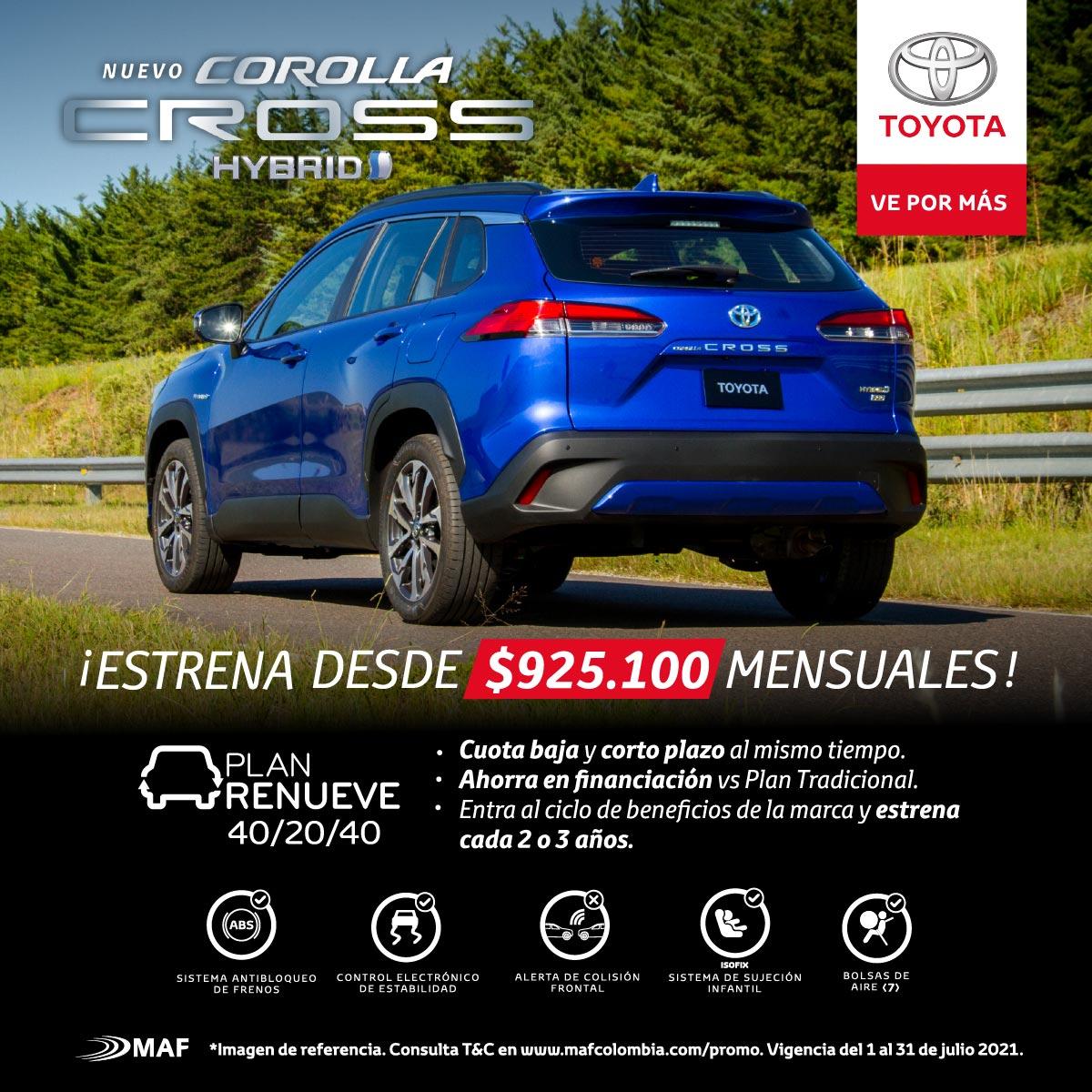 Corolla Cross Hybrid